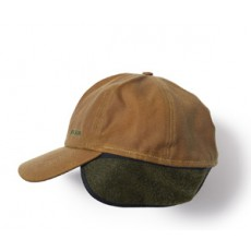 Insulated Tin Cloth Cap Dark Tan
