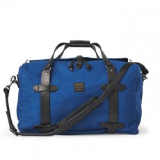 Medium Rugged Twill Duffle Bag Flag Blue