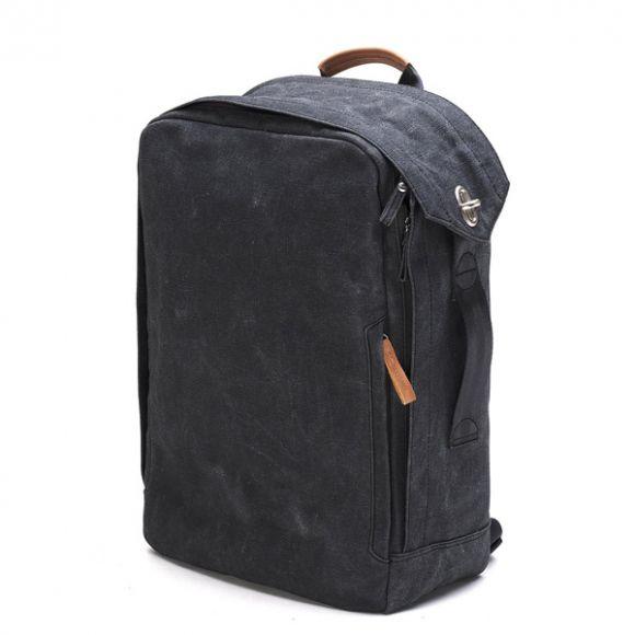 Backpack Organic Washed Black