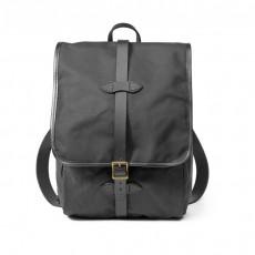 Tin cloth Backpack Black
