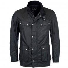Duke Waxed Jacket Black