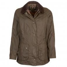 Beadnell Waxed Jacket Olive