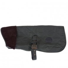 Quilted Dog Coat Olive