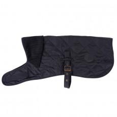Quilted Dog Coat Black