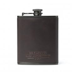 Flasque Trusty Cuir Dark Cedar
