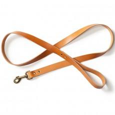 Leather Dog Leash Natural