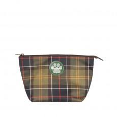 Dog Wash Bag Tartan