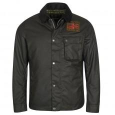 Workers Wax Jacket Black