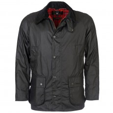 Ashby Wax Jacket Black