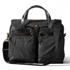 24 Hour Tin Cloth Briefcase Cinder