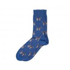 Barbour Pointer Socks Blue