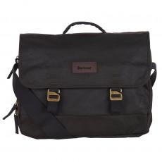 Traveler Wax Shoulder Bag Olive