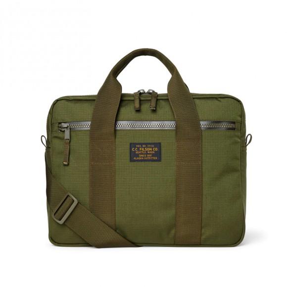 Ripstop Nylon Compact Briefcase Surplus Green