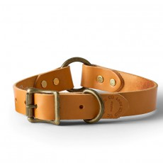 Leather Dog Collar Natural