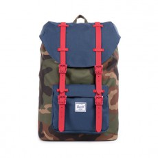 Little America Mid Volume Woodland Camo / Navy / Red Rubber