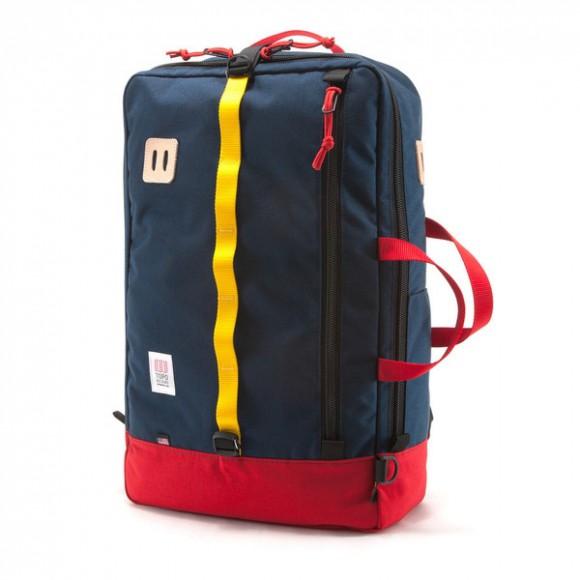 Topo Designs, Sac de voyage rouge Red