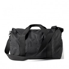 Tin Cloth Duffle Bag Small Black