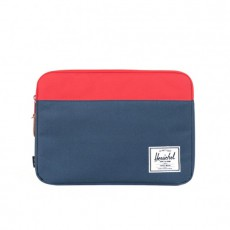 """Anchor Sleeve 13"""" Navy Red"""