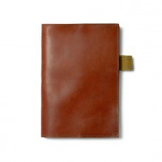Leather Notebook Cover with Notebook- Small