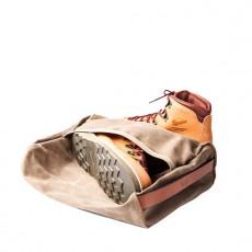 Stowaway Boot Bag Waxed Field Tan